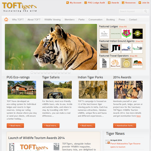 Travel Operators for Tigers | TOFT
